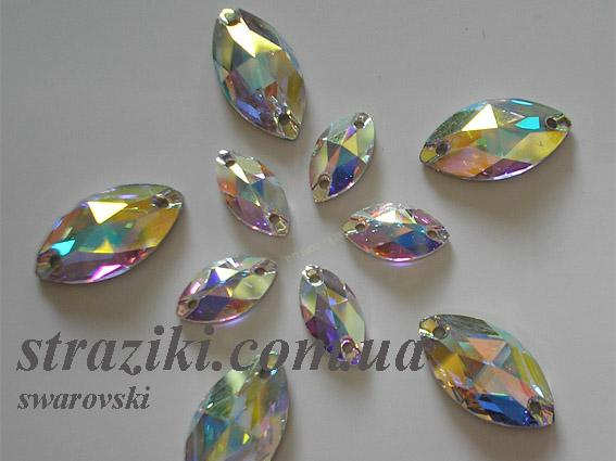 SW.Лодочка Crystal_AB 18mm*9mm